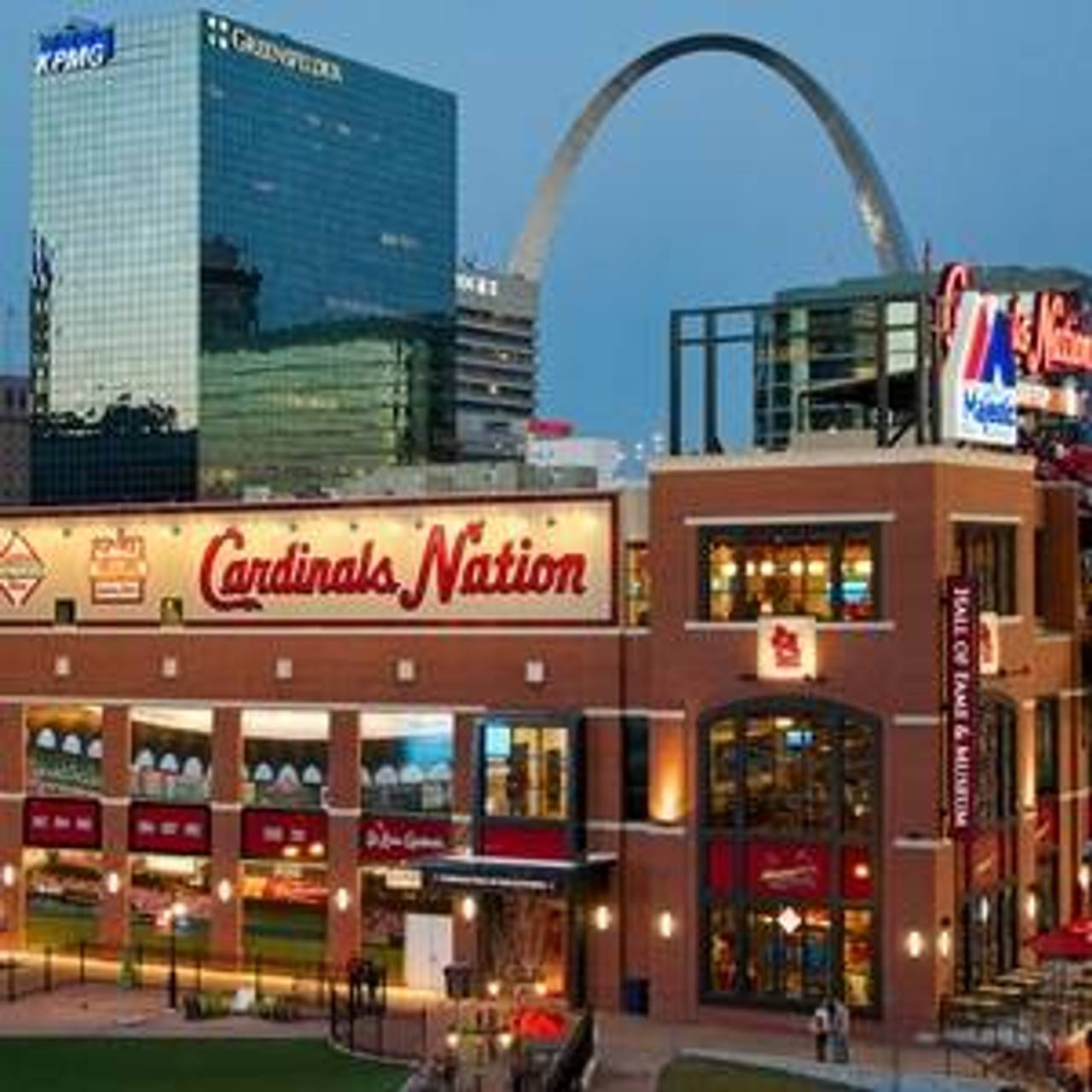 Cardinals Nation Restaurant St Louis Mo Opentable