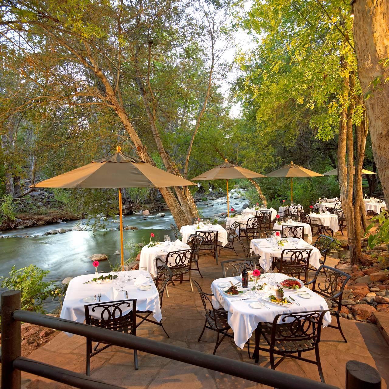 Cress On Oak Creek At L Auberge De Sedona Restaurant