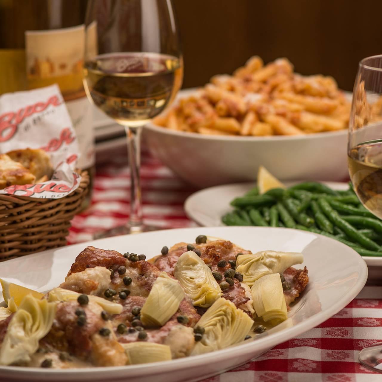 Permanently Closed - Buca di Beppo - Winchester Restaurant ...
