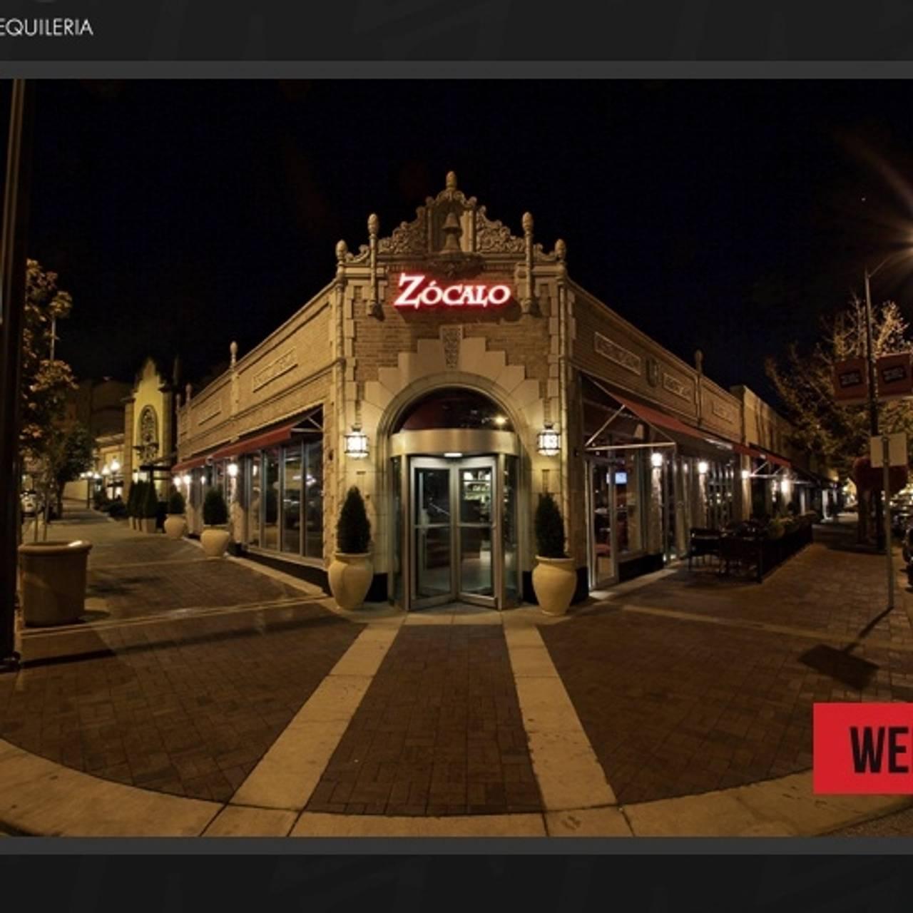 Zocalo Mexican Cuisine Tequileria Restaurant Kansas City