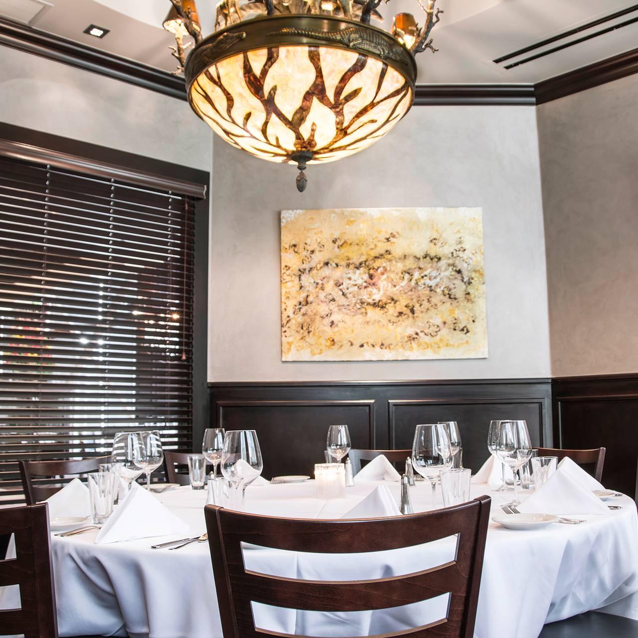 Mahogany Prime Steakhouse Downtown Restaurant Oklahoma
