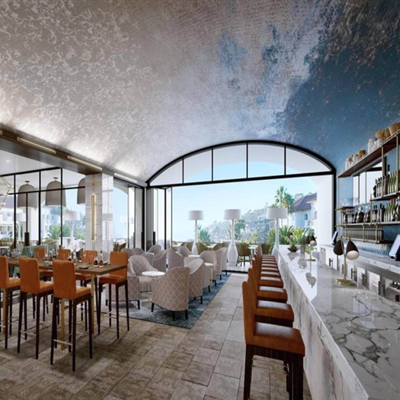 Aveo Table Bar At The Monarch Beach Resort Dana Point Ca