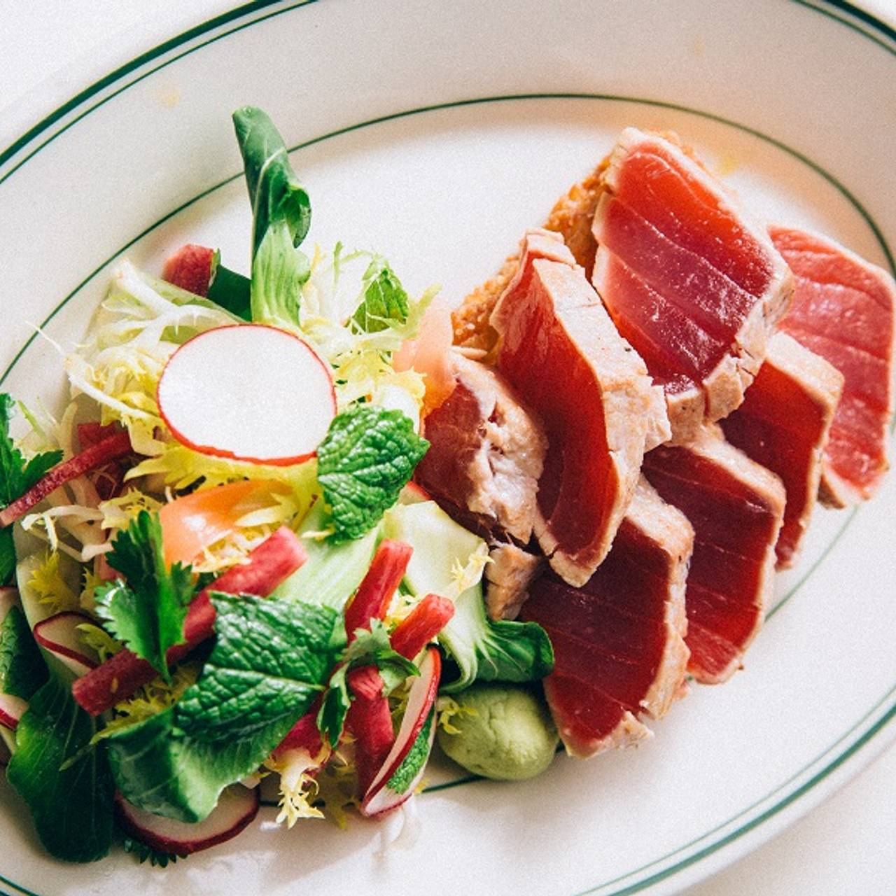 Seared Ahi Tuna Salad Joe S Seafood Prime Steak Stone Crab Las Vegas