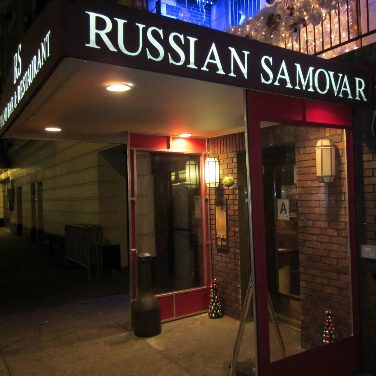 Russian Samovar & Tolstoy's Lounge Restaurant - New York, NY | OpenTable