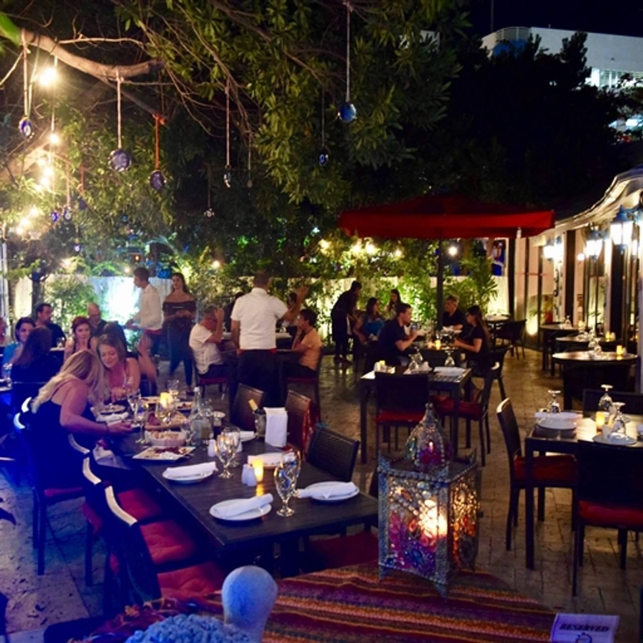 Babylon Mediterranean Kitchen Bar Miami Beach