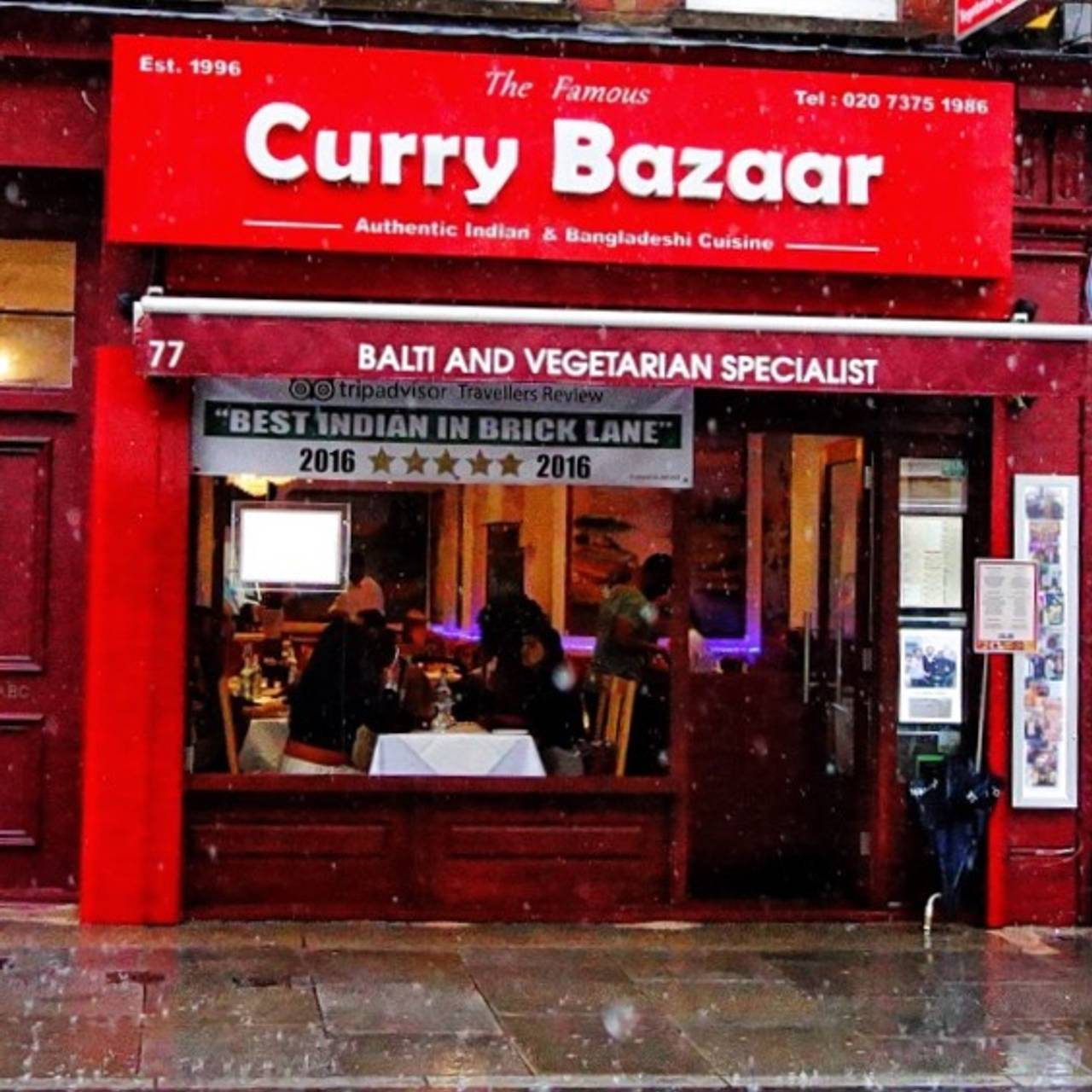 Best Curry Brick Lane >> The Famous Curry Bazaar London Opentable