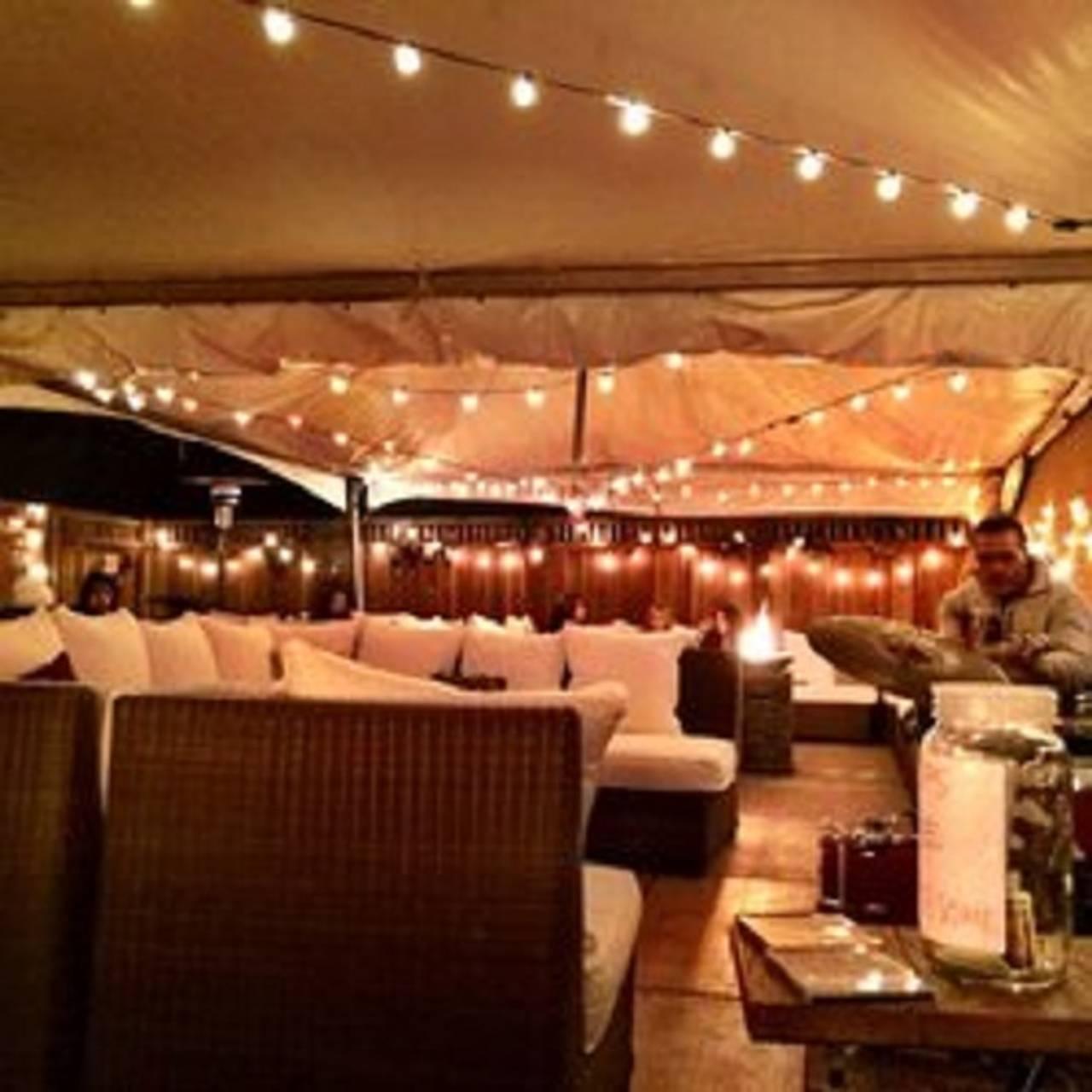Back Patio Double Barrel Wine Bar Livermore Ca