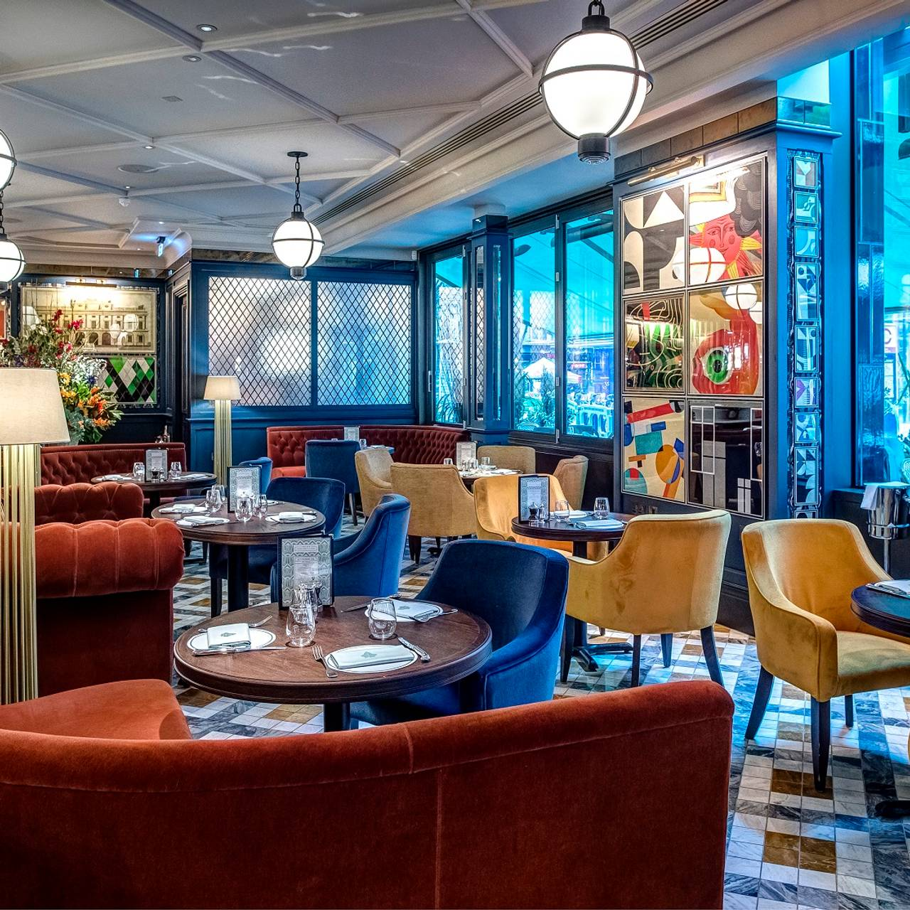 The Ivy Soho Brasserie - London, | OpenTable