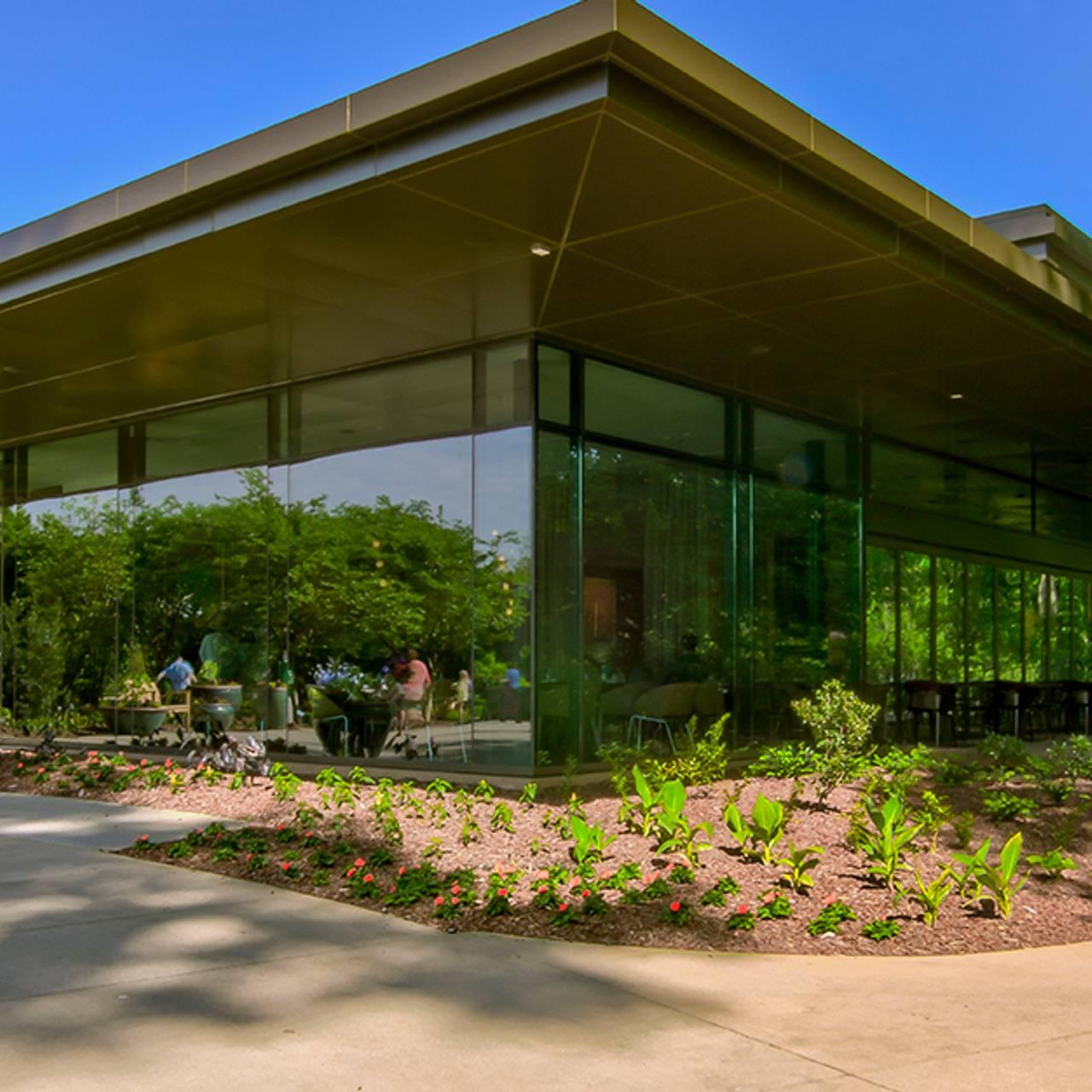 Atlanta Botanical Garden Storza Woods: Atlanta Botanical Garden Sage Parking