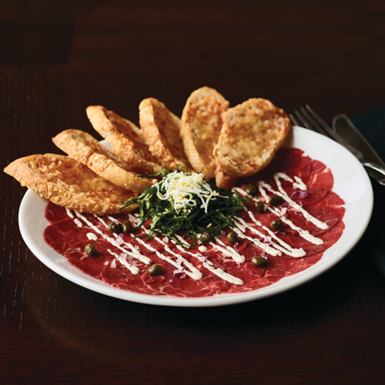 Tenderloin Carpaccio Fleming S Steakhouse Chandler Az