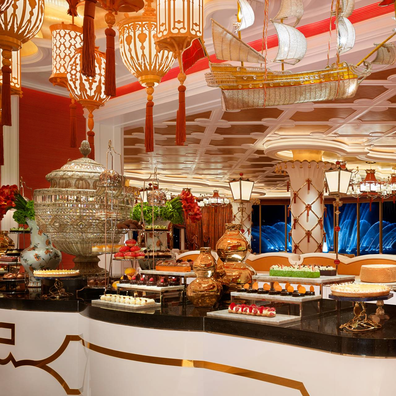Astonishing Cafe Fontana Wynn Palace Cotai Restaurant Cotai Macau Interior Design Ideas Clesiryabchikinfo