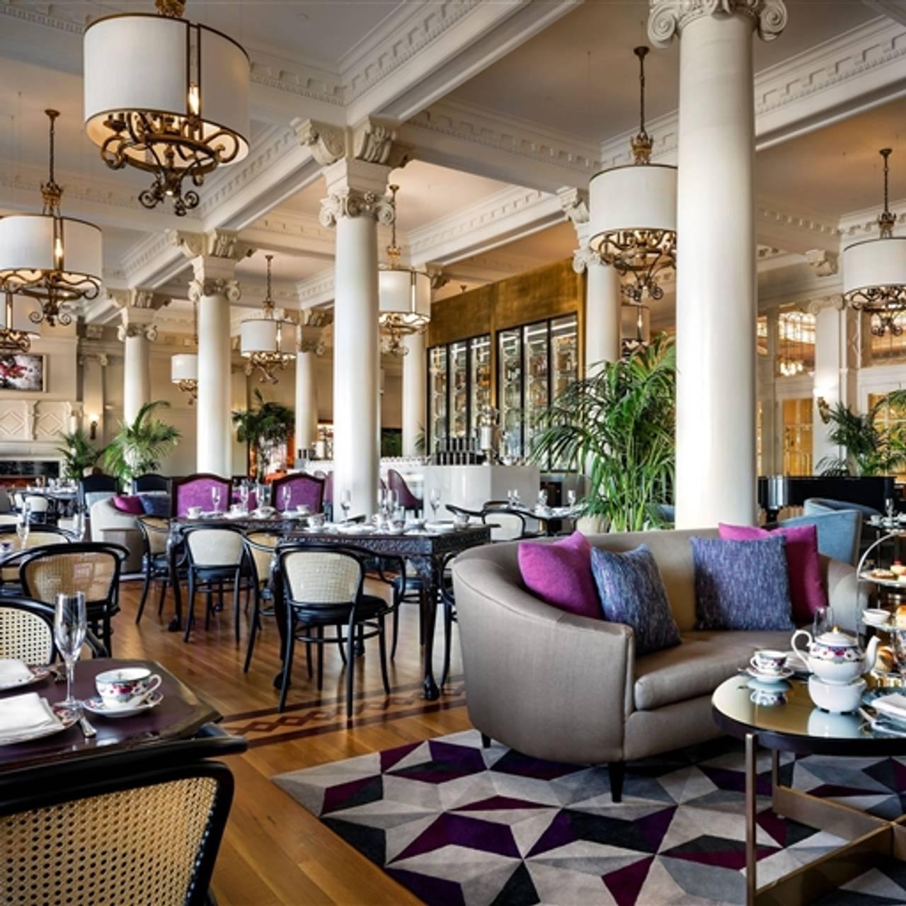 Tea At The Empress Victoria Bc