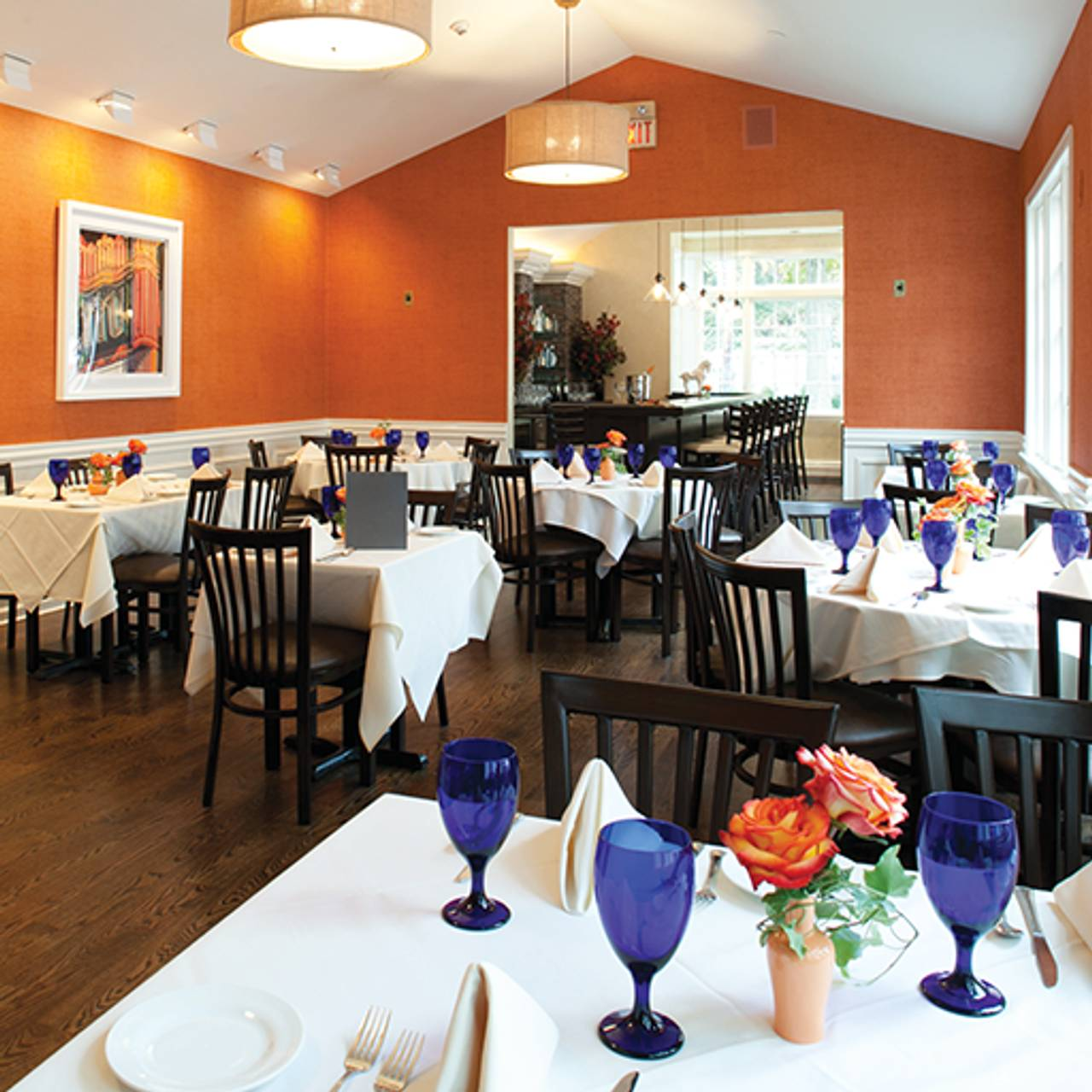 Interior Carriage House Restaurant Millburn Nj