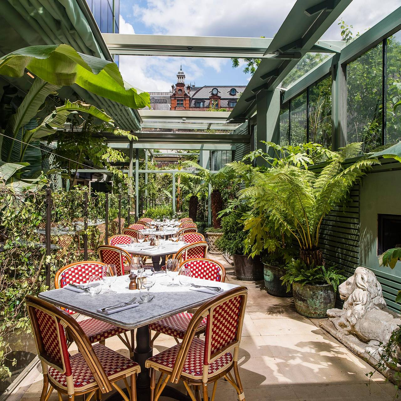 The ivy city garden london opentable