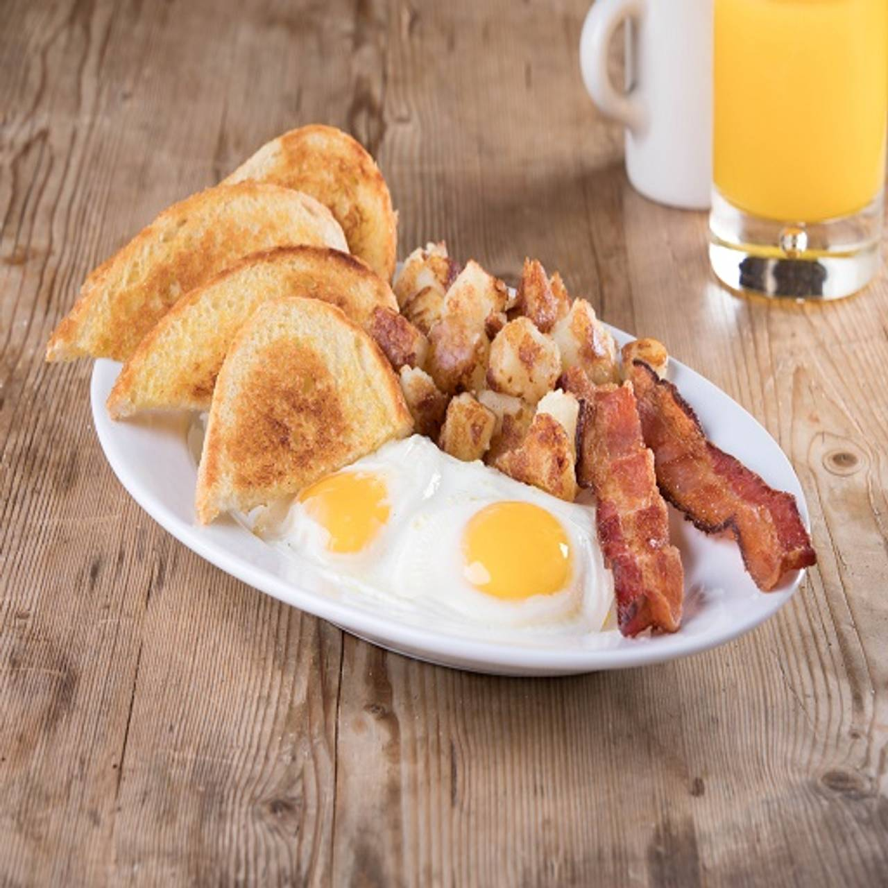 Double Down Breakfast Kings Family Restaurant Sierra North Plaza Altoona Pa