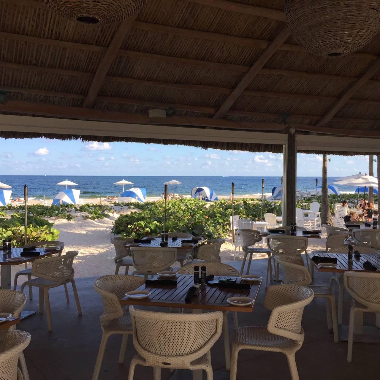 Ocean Grill Tiki Bar Beachcomber Resort Restaurant