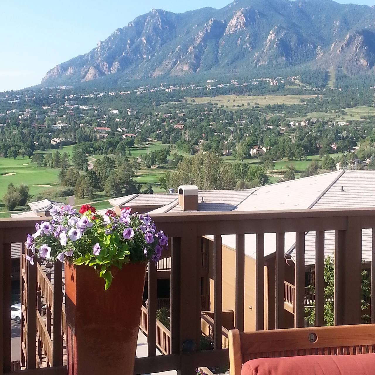 mountain view restaurant at cheyenne mountain colorado springs, a