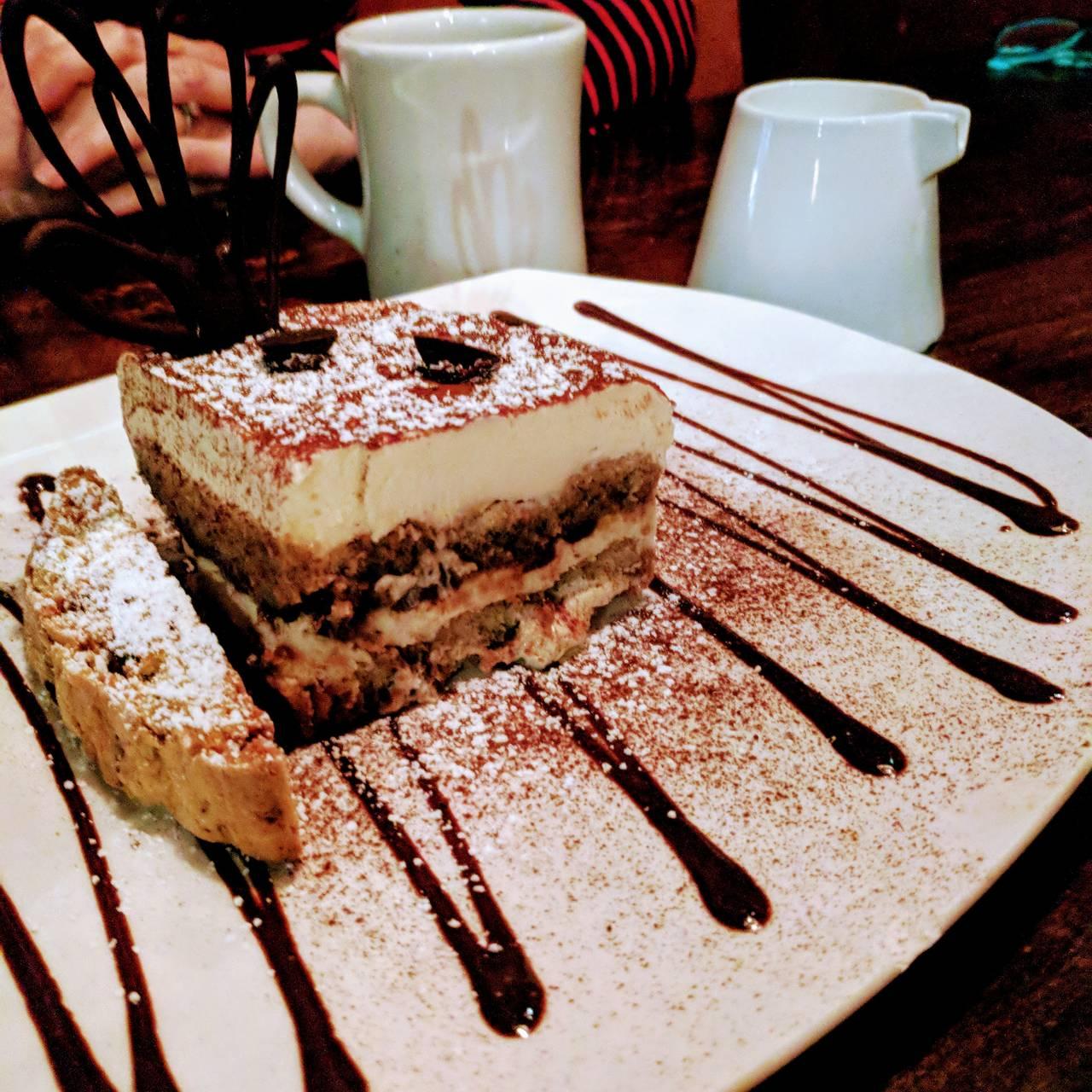 Cafe Fiore Dessert Menu