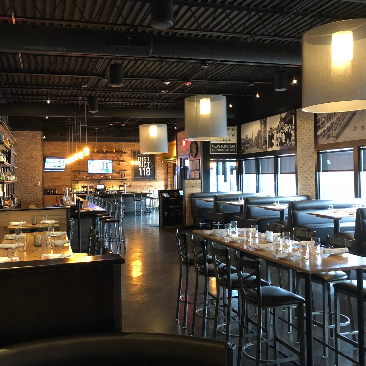 district 118 kitchen and bar restaurant newton ma opentable