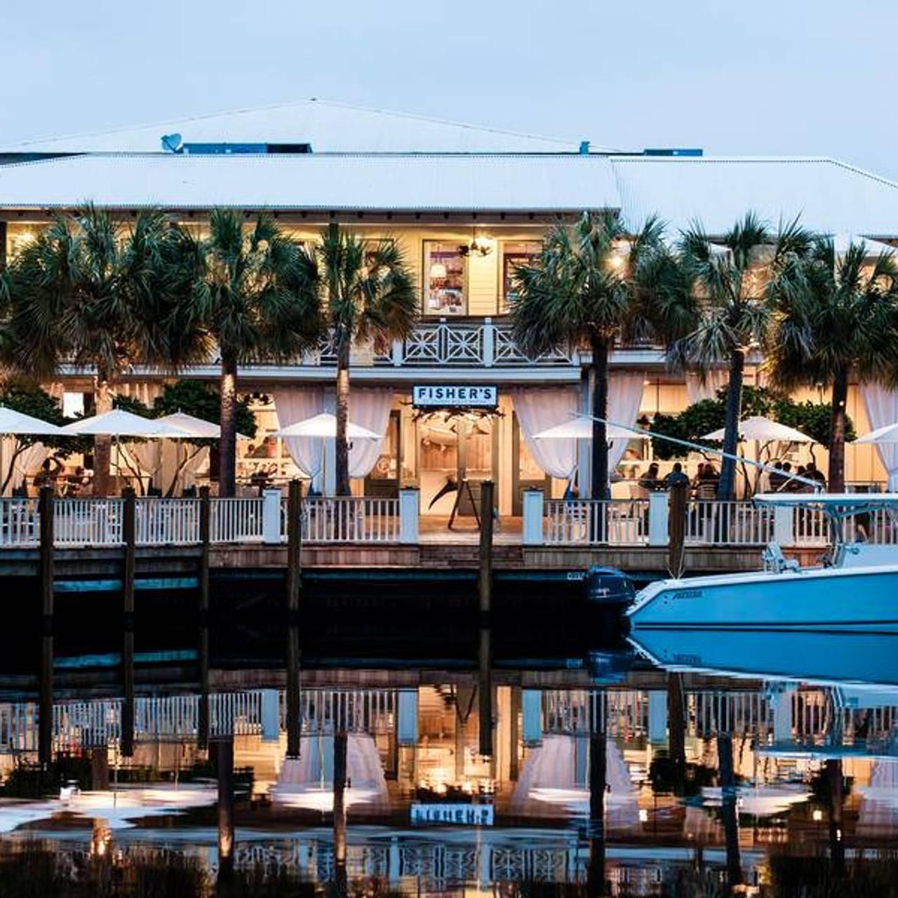 Fisher S At Orange Beach Marina Upstairs Restaurant