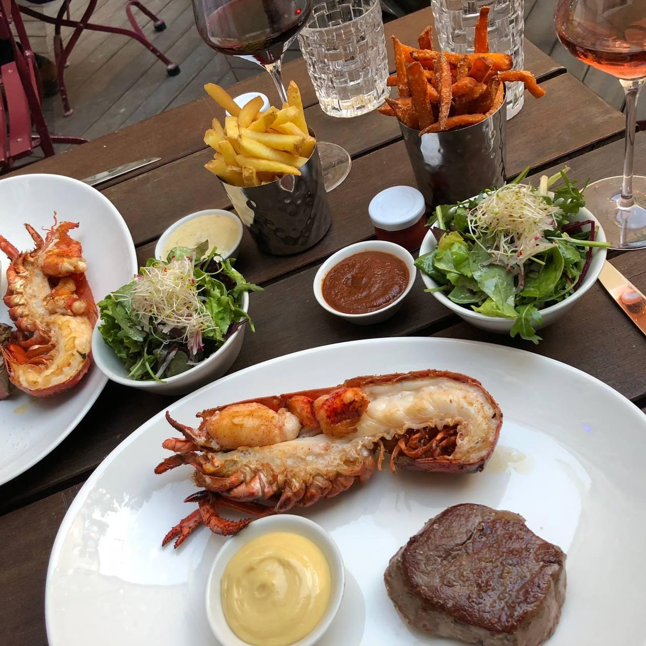 Burger Lobster Bank Restaurant München By Opentable