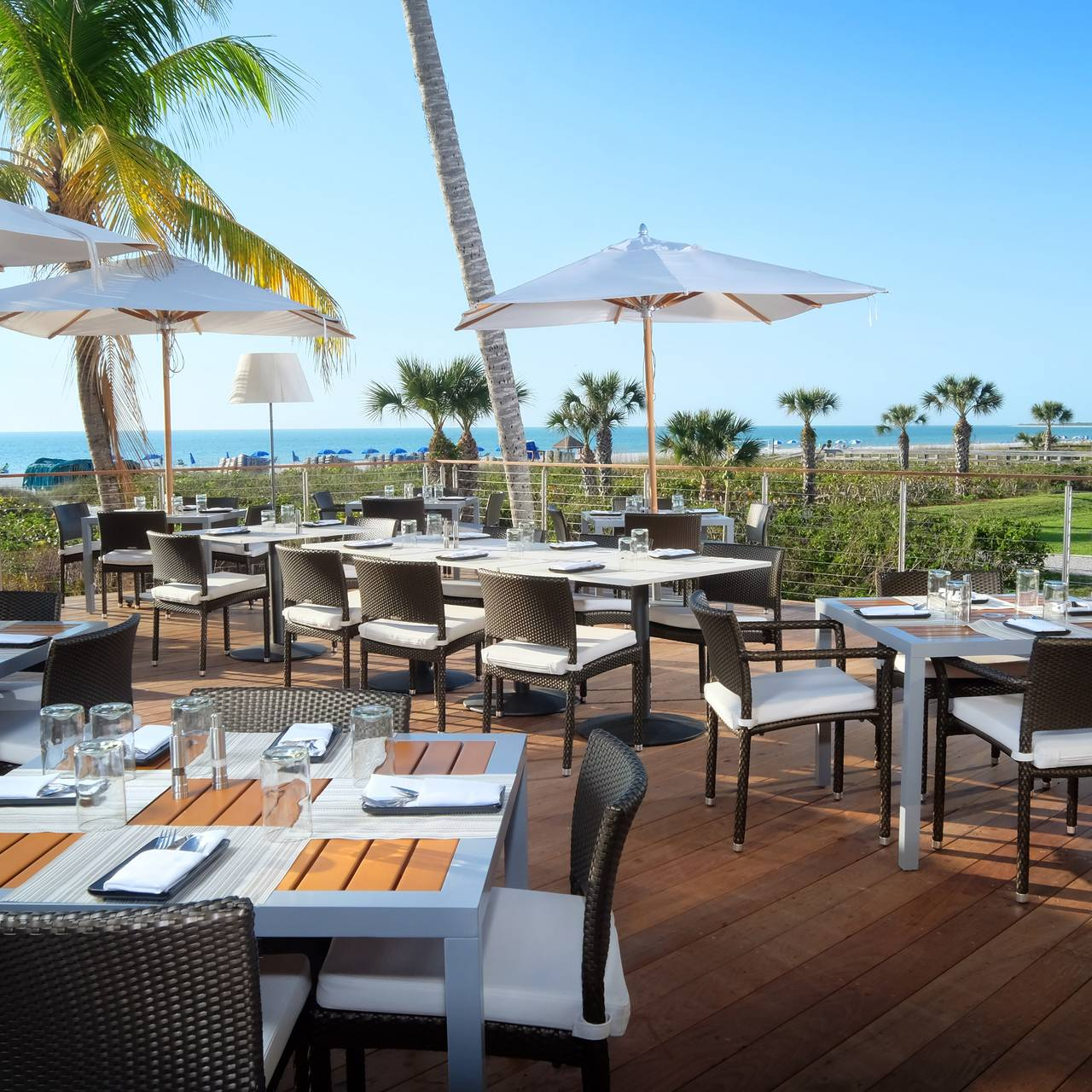 The Deck At 560 Hilton Marco Island Resort Spa
