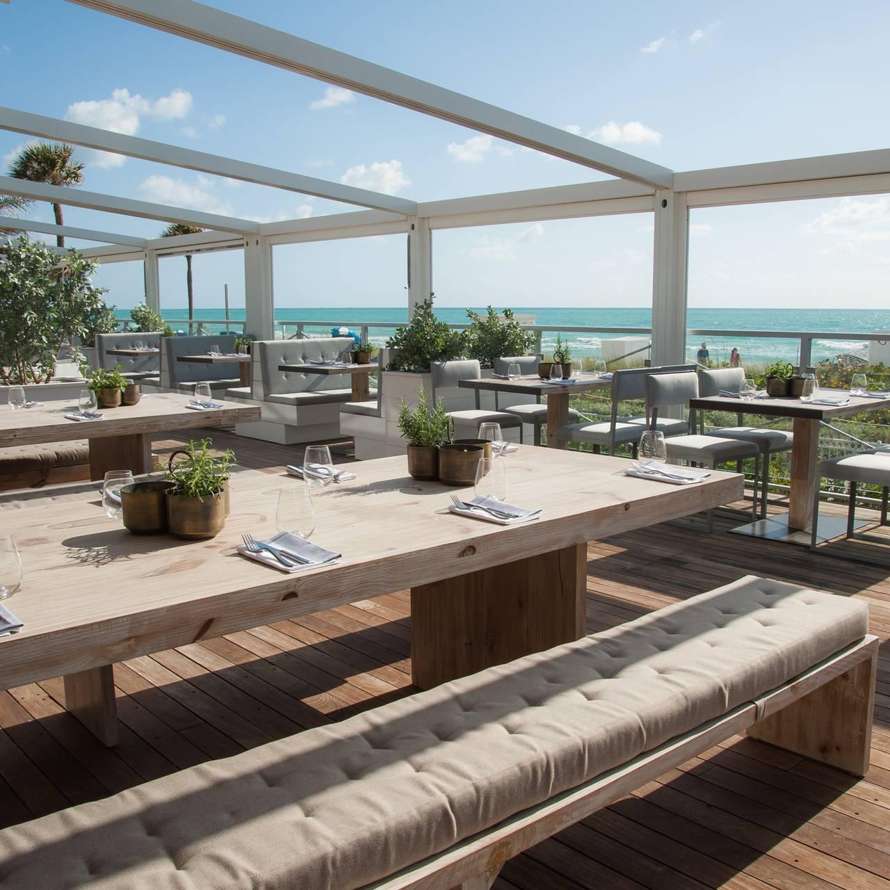 Malibu Farm Miami Beach Restaurant Miami Beach Fl Opentable