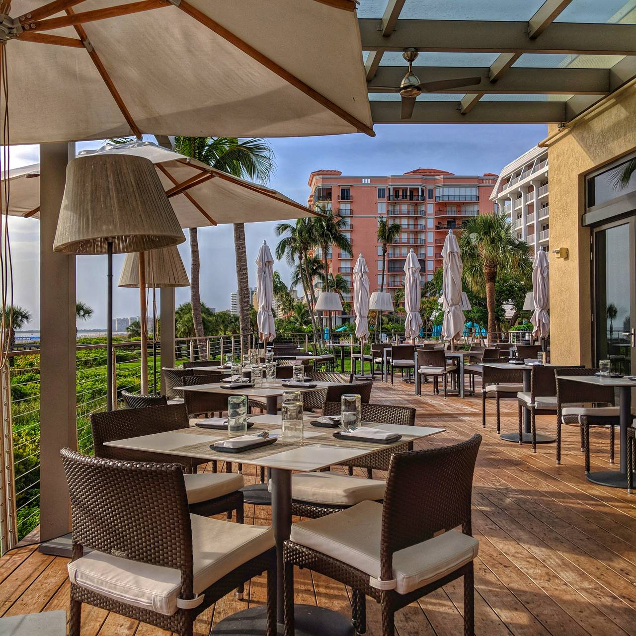 The Deck At 560 Hilton Marco Island Resort And Spa Restaurant Fl Opentable