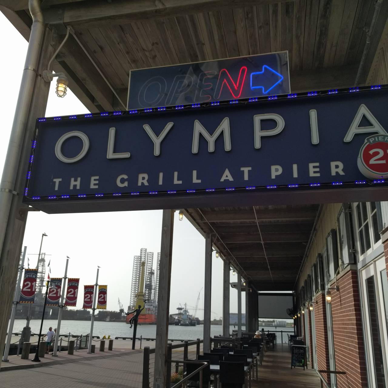 Permanently Closed - Olympia Grill at Pier 21 Restaurant