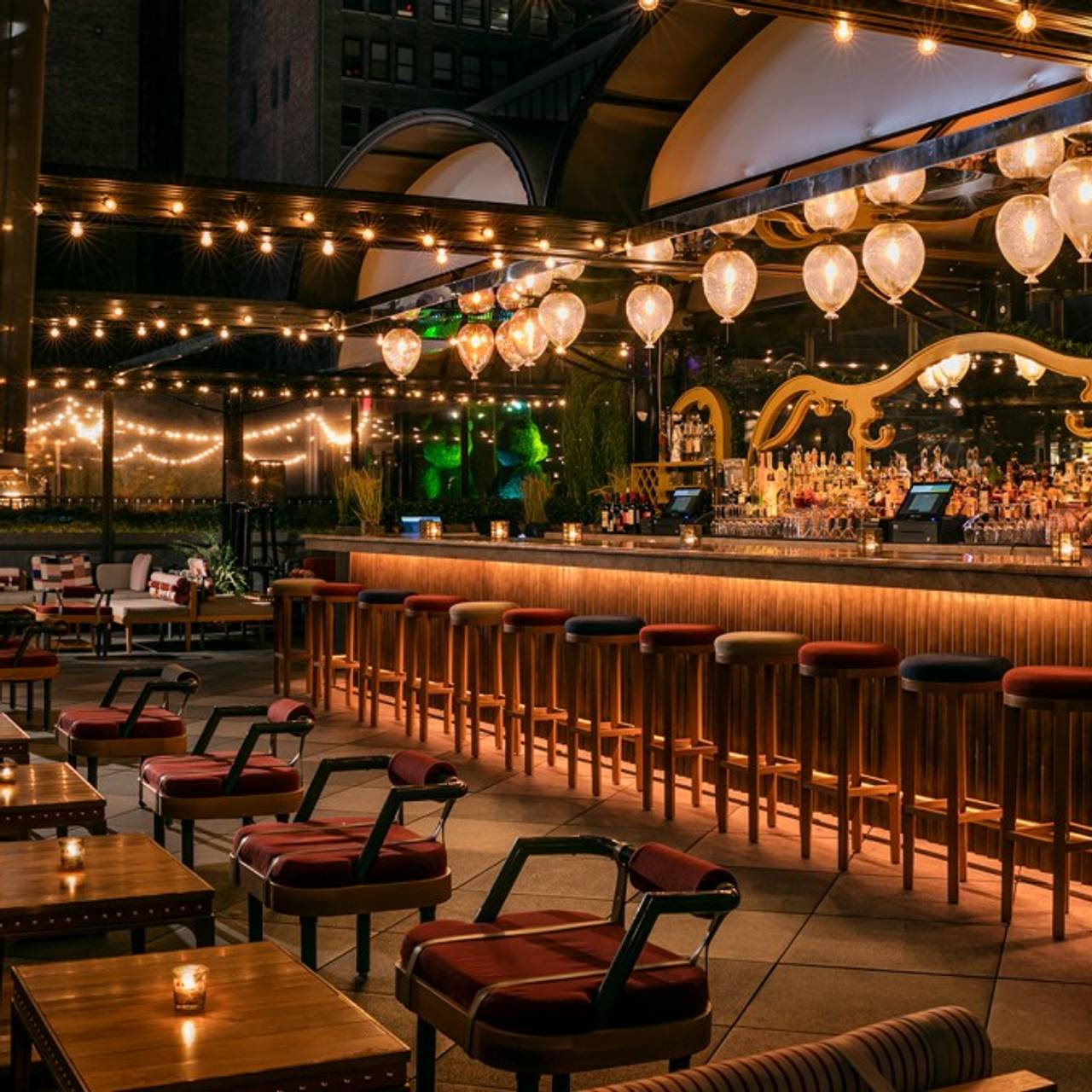 Magic Hour Rooftop Bar & Lounge Restaurant - New York, NY | OpenTable