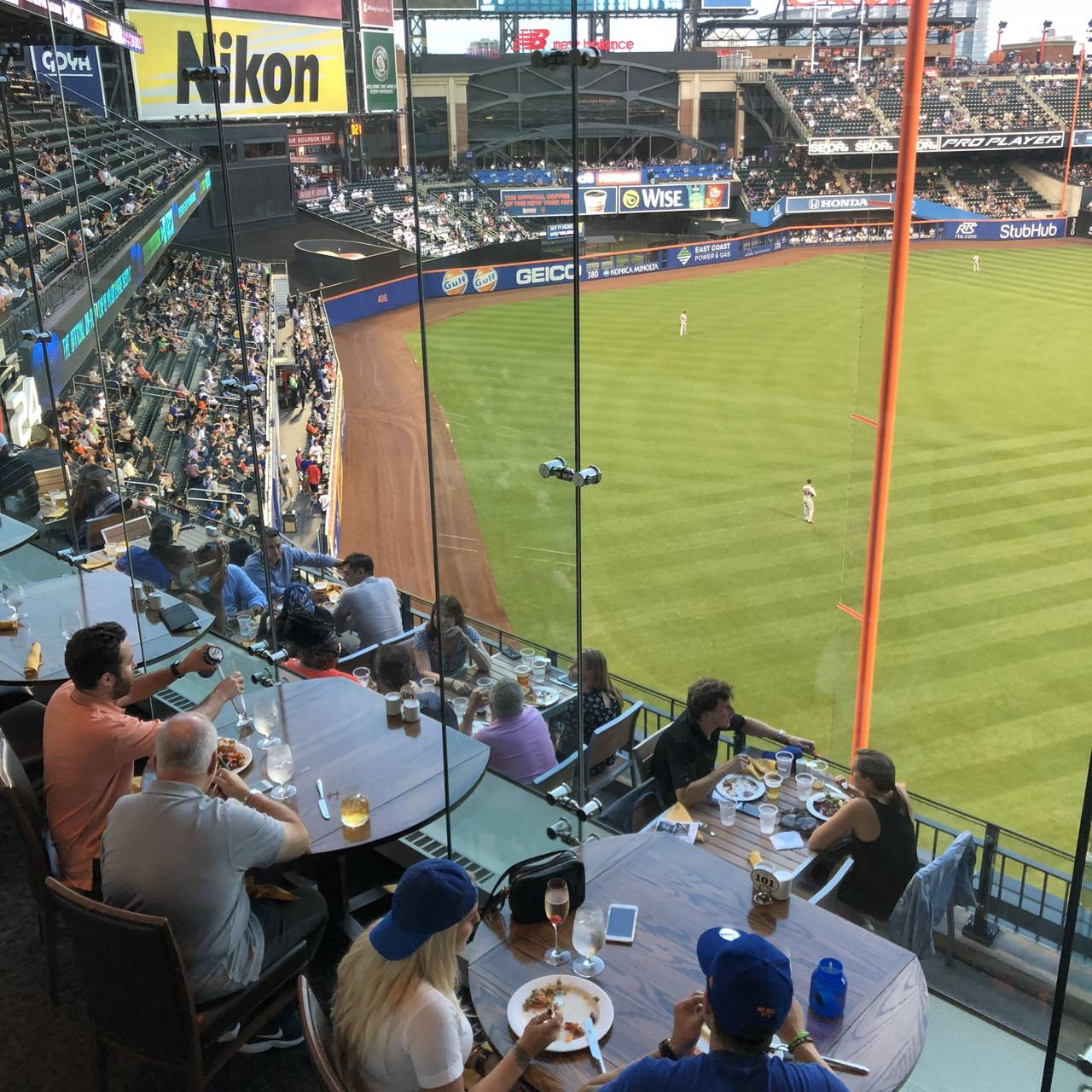 Porsche Grille at Citi Field (formerly the Acela Club) Restaurant ...