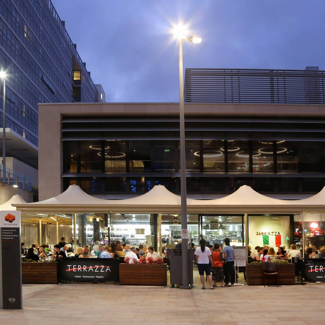 Terrazza Pizzeria Restaurant Chatswood Au Nsw Opentable