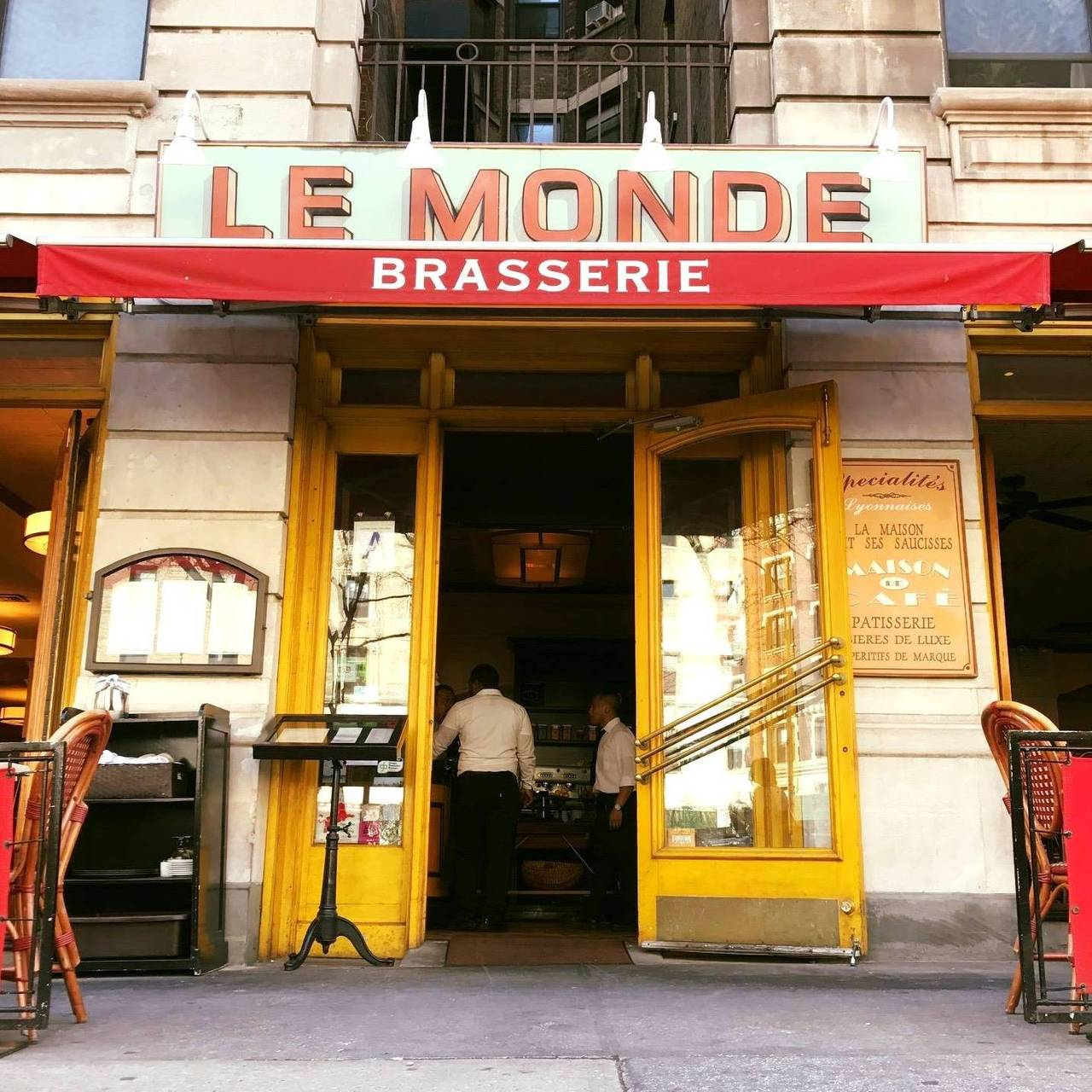 Le Monde Restaurant - New York, NY | OpenTable