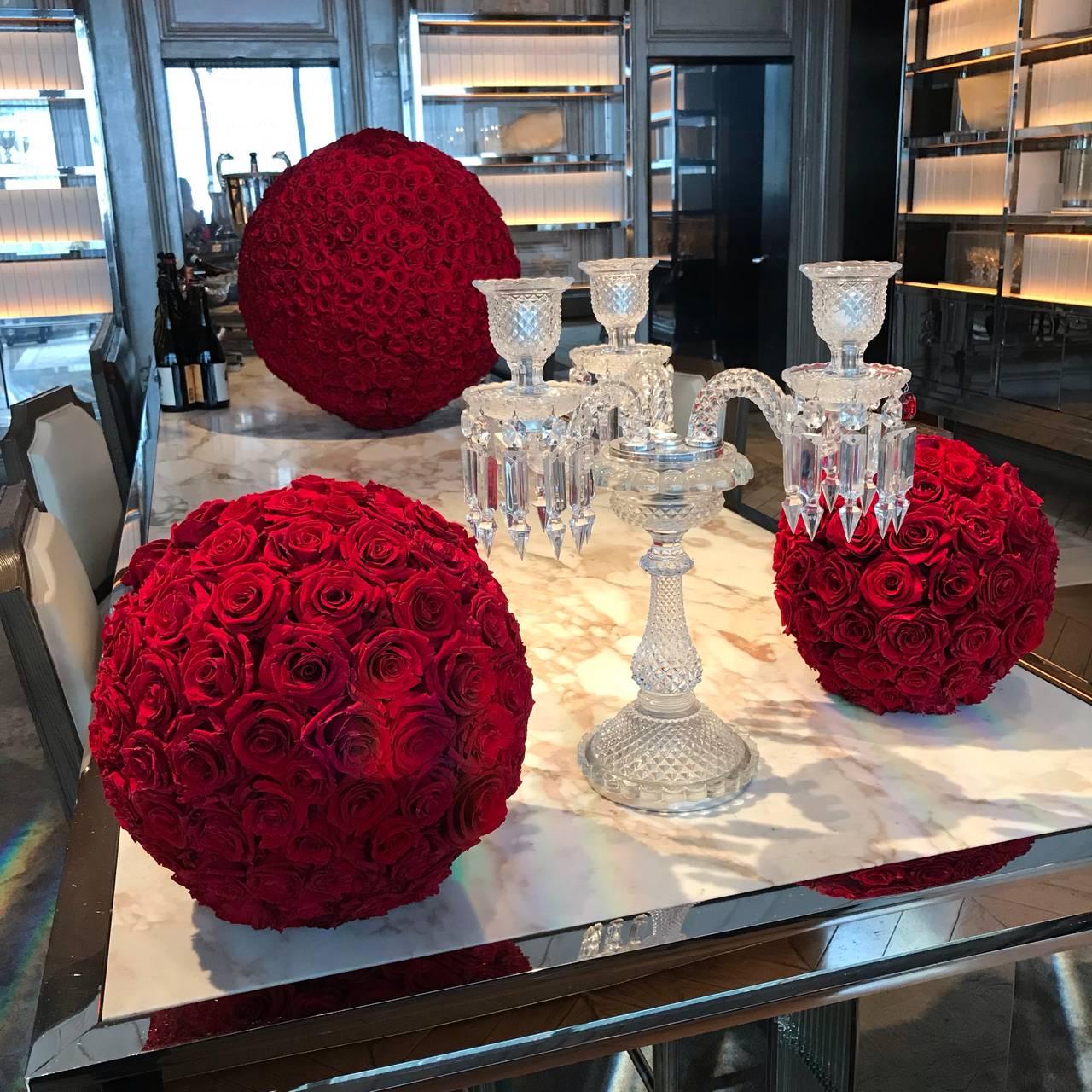 Baguette En Bois Decorative grand salon & bar at baccarat hotel new york restaurant