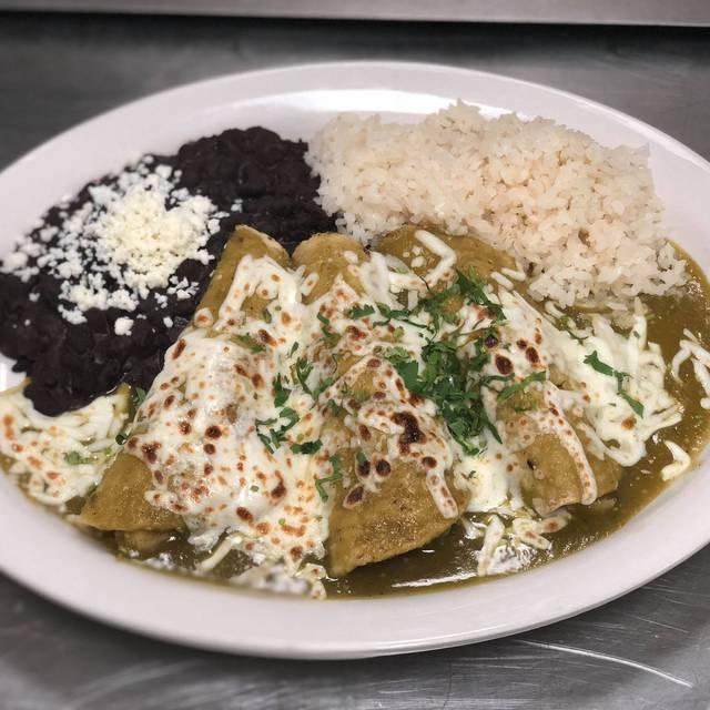 Chicken Enchiladas - Mexican Republic Kitchen & Cantina, Forest Park, IL