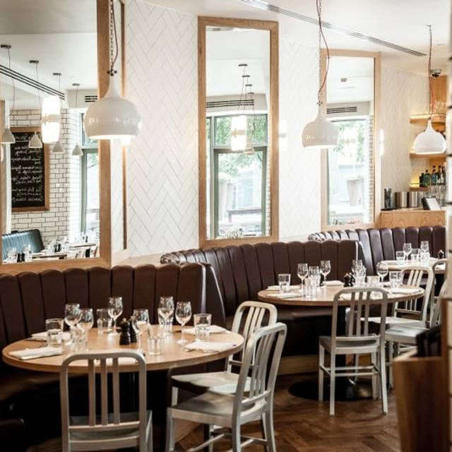 Tom S Kitchen Canary Wharf London Opentable