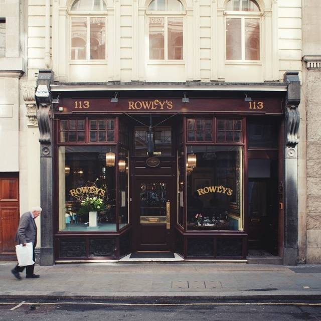 Rowley's Restaurant, London