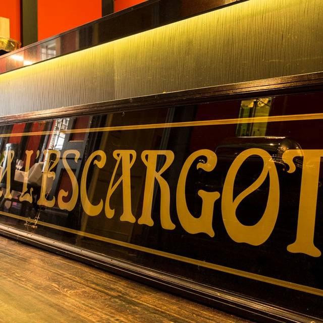 L'Escargot, London