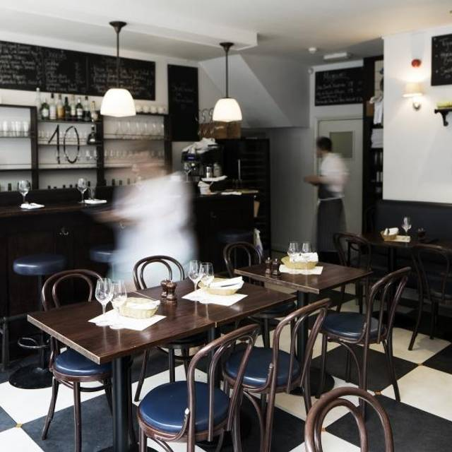The 10 Cases - Bistrot à Vin, London