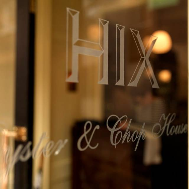 HIX Oyster & Chophouse, London