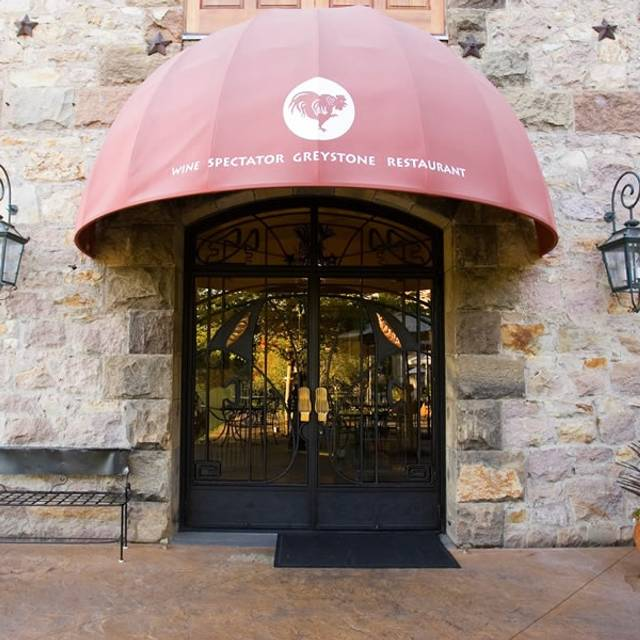 Wine Spectator Greystone Restaurant at The Culinary Institute of America, St. Helena, CA