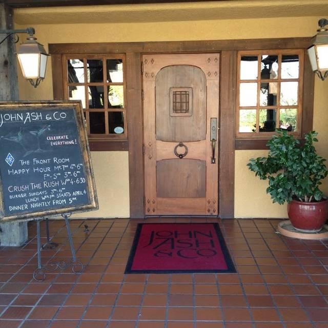 John Ash & Co., Santa Rosa, CA