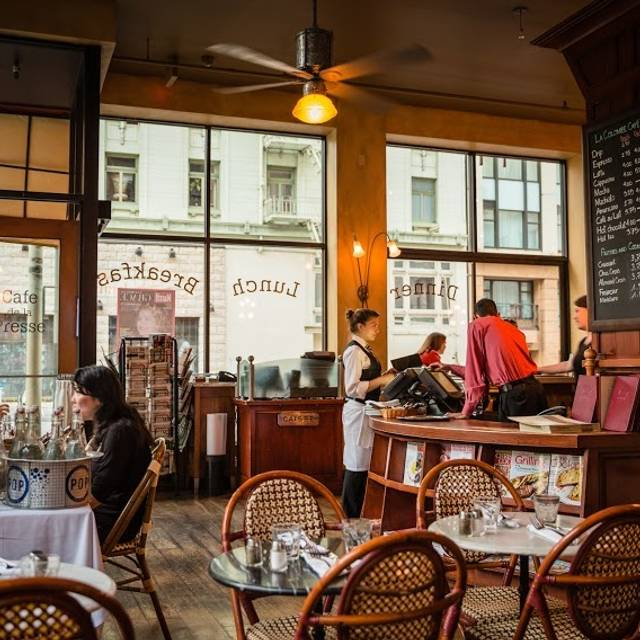 Cafe de la Presse, San Francisco, CA