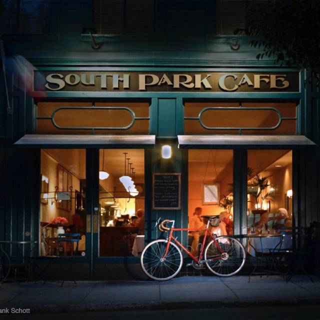Permanently Closed South Park Cafe Restaurant San Francisco Ca