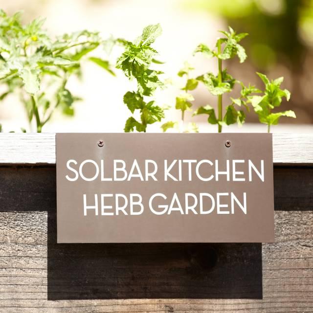 Solbar - Solage Calistoga, Calistoga, CA