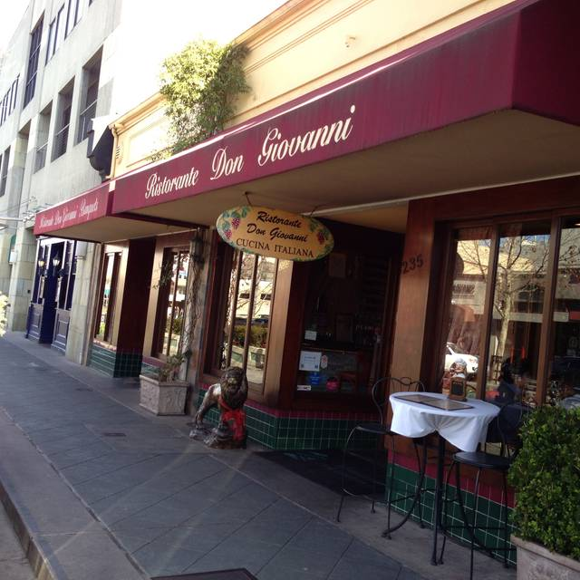 Ristorante Don Giovanni - Mountain View, Mountain View, CA