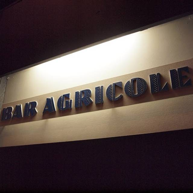 Bar Agricole, San Francisco, CA