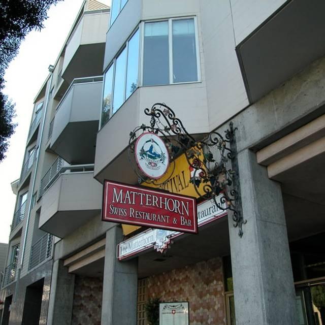 The Matterhorn Swiss Restaurant, San Francisco, CA