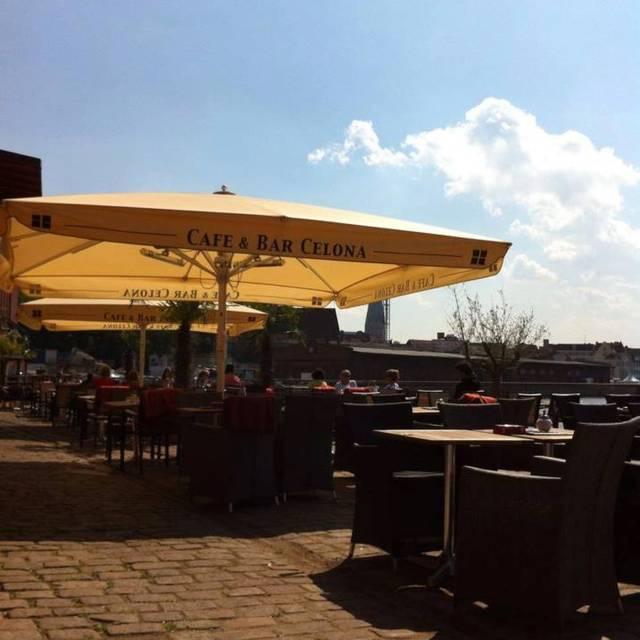 Speisekarte Cafe Bar Celona
