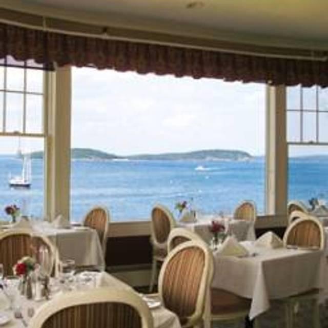 Reading Room Restaurant at The Bar Harbor Inn, Bar Harbor, ME